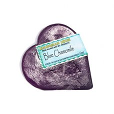 Blue Chamomile Heart Shaped Handmade Soap