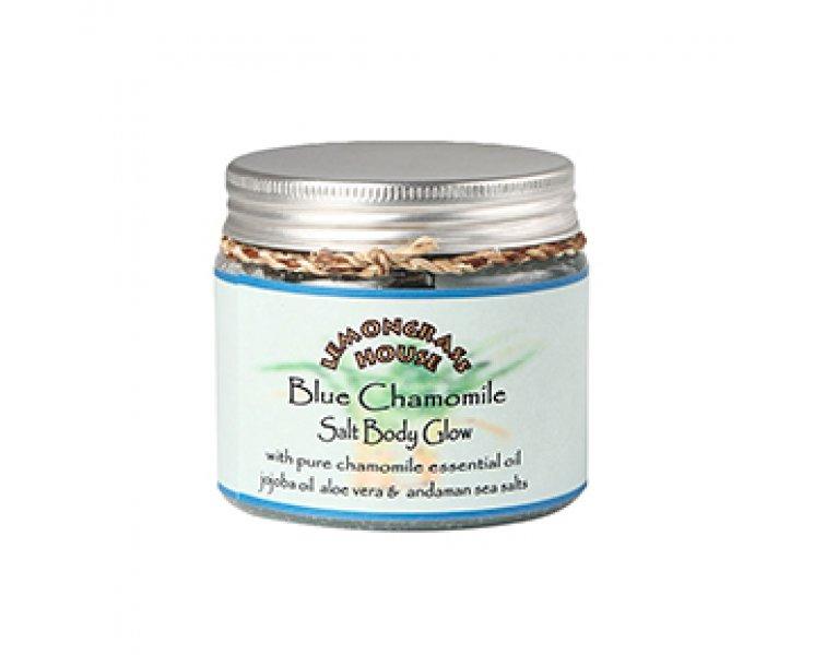 Blue Chamomile Salt Body Glow Scrub