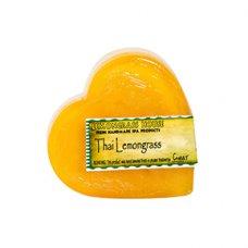 Lemongrass Heart Shaped Handmade Soap