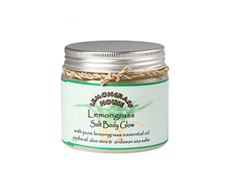Lemongrass Salt Body Glow Scrub