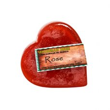 Rose Heart Shaped Handmade Soap