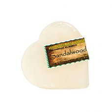 Sandalwood Heart Shaped Handmade Soap